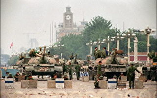 89年的民主運動被中共用武力殘酷的鎮壓了(法新社)