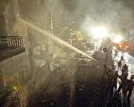 土耳其首都安卡拉一加油站7月5日发生爆炸造成200多人受伤(法新社)