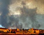加州大火持續燃燒,空氣嚴重惡化(法新社圖片)