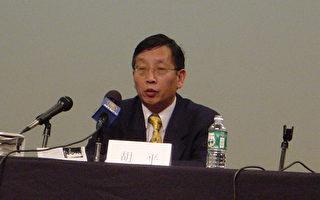 圖片説明:著名政論家胡平先生。