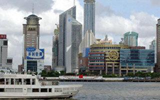 上海浦東陸家嘴林立的高樓改變了市容也加速了地面下沉(法新社圖)