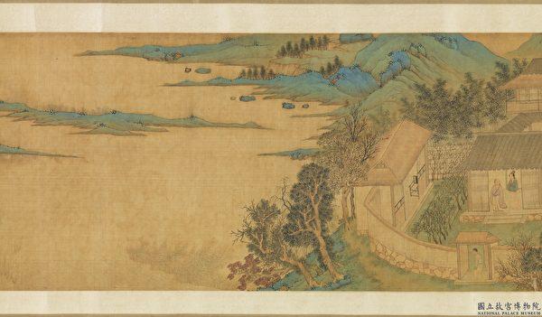 隐士 隐居 中国画 赤壁图
