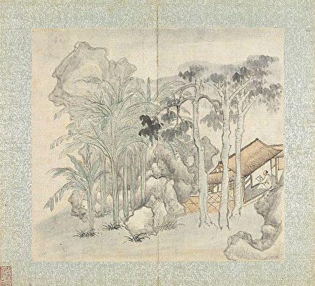 隐士 隐居 中国画