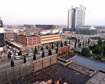 1999年8月的唐山。(法新社)