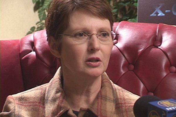 Leah Haley女士自述曾被外星人绑架。(大纪元)