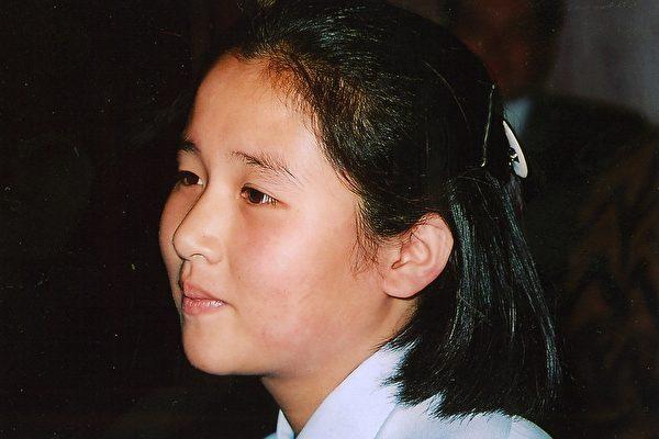 橫田惠在北朝鮮結婚生下的女兒,祖母橫田早紀江說孫女的側影和她們家族的一樣(當事人提供)