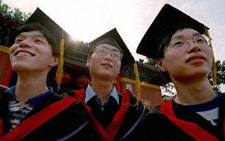 中國大學畢業生創業成功率低。(AFP)