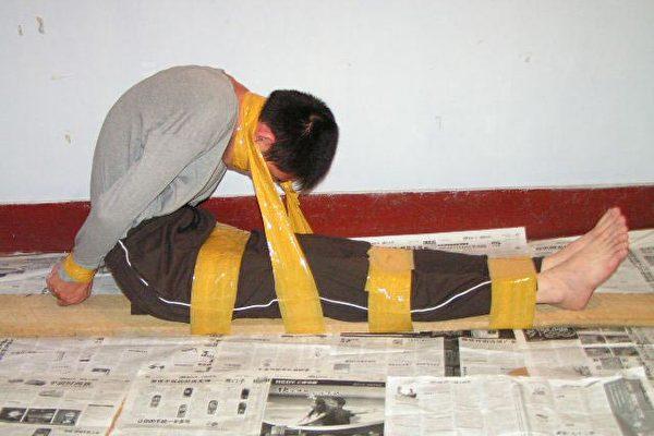 組圖﹕北京不法警察整人的陰招