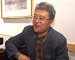 哈金在美国东海岸国际汉语诗歌节及诗学研讨会上接受新唐人记者采访