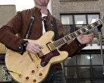 U2合唱团吉他手The Edge.(AFP)