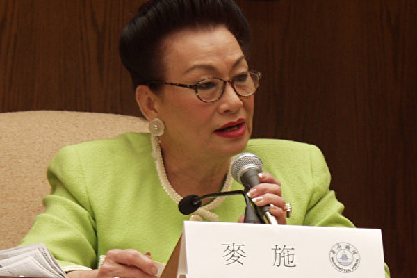 王能祥 华府台湾基督长老教会长老 (大纪元记者摄影)