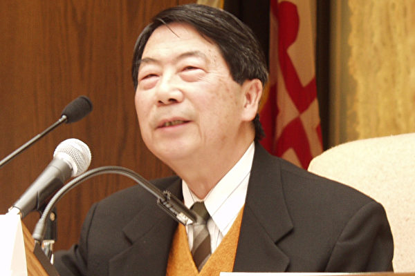 麦施 越棉寮协会会长 (大纪元记者摄影)