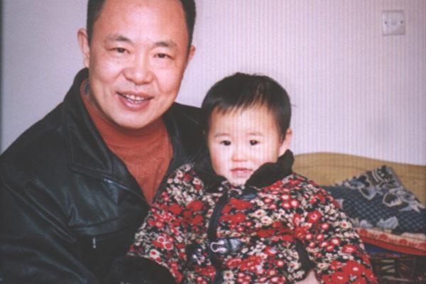 张林和女儿 (图片由作者提供)