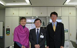 拜访东京都生活文化局长