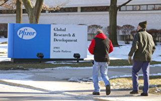美國伊州Pfizer公司研究總部。(1/22/2004﹐Getty Images)