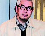 新加坡英文海峡时报东亚区特派记者、前香港文汇报副总编辑程翔近照(大纪元资料图片)