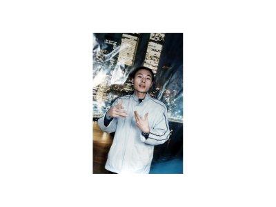 2005年5月29日杨银波创办维权通讯(敢言杂志)(图片作者提供)