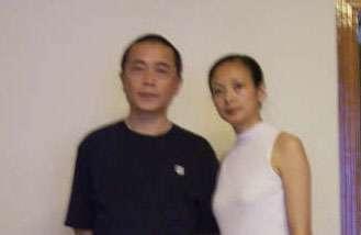 黄琦和太太曾丽(博训网)