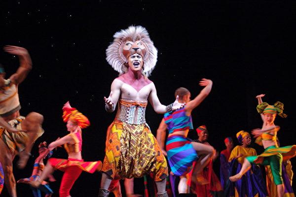 组图:舞台剧《狮子王》墨尔本上演