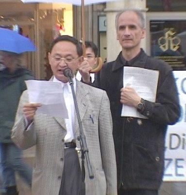 民主中国阵线主席费良勇指出:不仅13亿中国人遭到中共绑匪的绑架,美国、欧洲和全球人民都遭到中共的绑架(大纪元)