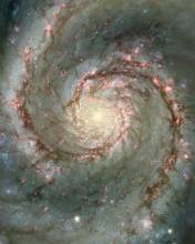 M51漩涡状银河系﹝照片提供:美国太空总署NASA and The Hubble Heritage Team (STScI AURA)﹞