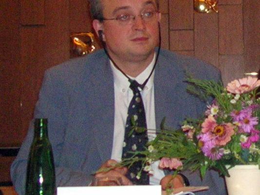 捷克国会议员玛瑞克.班达先生(大纪元)