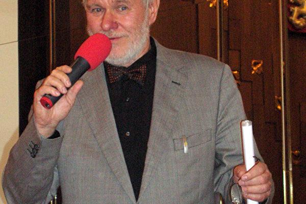 捷克参议员亚若米尔.斯蒂提那先生(大纪元)