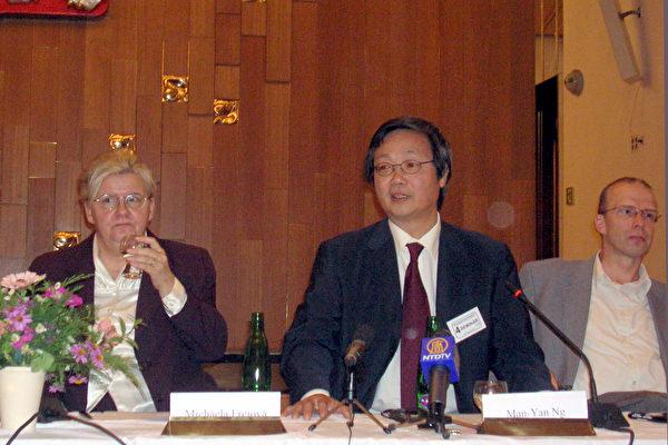 德国国际人权协会理事曼杨先生
