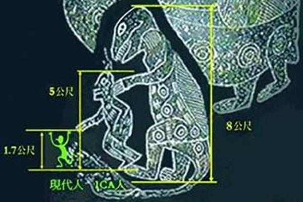 雕刻ICA石头的人是巨人?(图片提供:Dr. Don Patton)