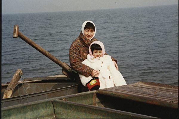 「我看著女兒的小臉,想交代母親兩句,讓他們將她送回北京或督促她好好寫作業,又覺多余,什麼也沒說。」(作者提供)