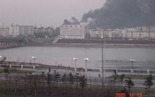 组图:来自大陆的吉林石化爆炸案图片报导