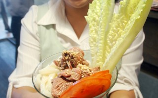 牛肉麵冠軍創意涮牛肉冷麵  以299套餐開賣