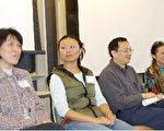 从左到右为教师刘林、陈毅星、施祖慰、史苏萍(普源中心的胡万里和刘孔礼提供)