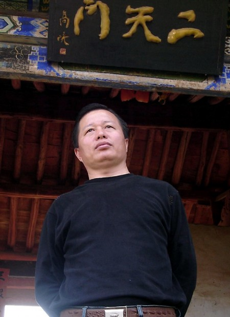 2005年12月13日中国著名律师高智晟正式发表书面声明退出中国共产党。图为:高智晟。大纪元新闻图片。