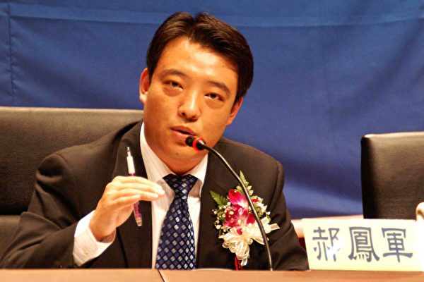 前中共公安局一级警司郝凤军。(大纪元记者刘文格摄)