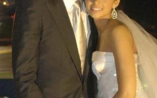 巴西足球明星卡卡迎娶十八歲女友