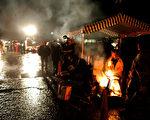 西佛基尼亚Tallmansville煤矿事故现场,最新消息表明,目前只有一名26岁的矿工存活下来,但情况危急。/Getty Images