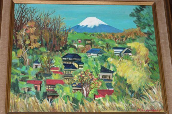 富士山—莊世和作品 (大紀元)
