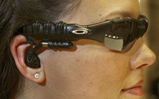能聽MP3的太陽鏡。(AFP)
