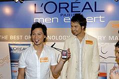 孪生歌手Soler卖脸  天价代言男士护肤产品
