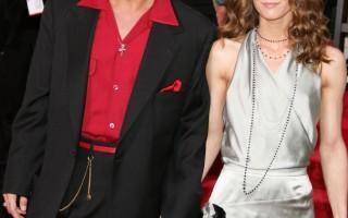 強尼戴普和法籍妻子瓦妮莎(Vanessa Paradis) /Getty Images