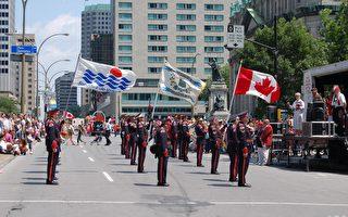 组图1:蒙特利尔庆祝139加拿大日
