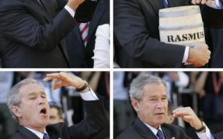 組圖:美布什總統訪德花絮