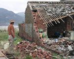 台風桑美造成了嚴重的經濟損失(FREDERIC J. BROWN/AFP/Getty Images)