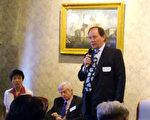 歐洲議會副主席愛德華在紐省議會座談(大紀元)