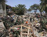 2016年中國有740萬居民因為自然災難在國內流離失所。圖為洪水肆虐後的景象。(CancanChu/GettyImages)