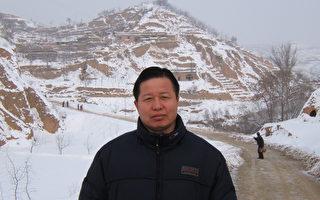 图为2006年初身在陕北老家的高智晟律师。(图片/叶霜)