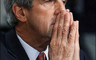 凯瑞态度大转变 为伊拉克美军问题失言道歉