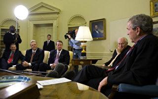 汽車業見布什:我們要公平貿易 不要紓困