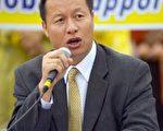 「全球聲援退出中國共產黨服務中心」發起人李大勇博士。(大紀元吳柏樺攝影)